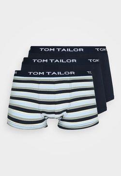 TOM TAILOR - PANTS 3 PACK - Shorty - blue