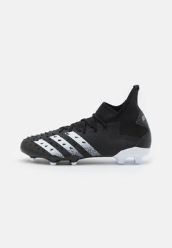 adidas Performance - PREDATOR FREAK .2 FG - Moulded stud football boots - core black/footwear white
