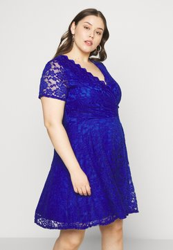 Simply Be - SKATER - Cocktail dress / Party dress - blue