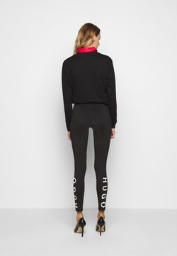 HUGO - Leggings - Trousers - black