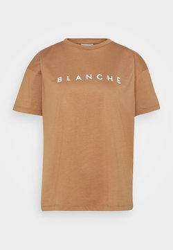 BLANCHE - MAIN CONTRAST - T-shirt print - toasted