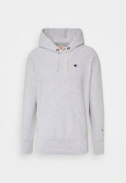 Champion Reverse Weave - HOODED - Hoodie - mottled light grey