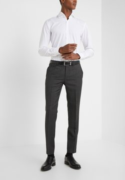 HUGO - HESTEN - Suit trousers - charcoal