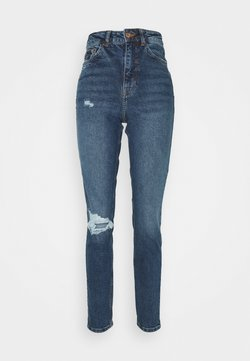 New Look Tall - TA BUSTED KNEE MOM JEAN LUCIOUS - Relaxed fit jeans - blue