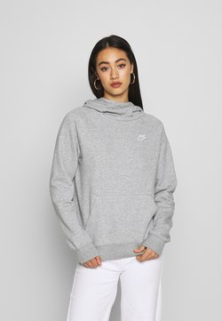 Nike Sportswear - Kapuzenpullover - grey heather/white
