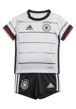 adidas Performance - DEUTSCHLAND DFB HEIMTRIKOT BABYKIT - Nationalmannschaft - white/black