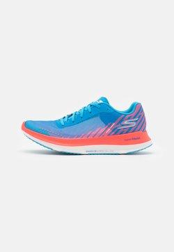 Skechers Performance - GO RUN RAZOR EXCESS - Scarpe running neutre - blue/coral