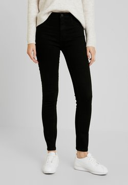 ONLY - ONLFHI MAX LIFE BOX - Jeans Skinny Fit - black denim