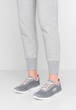 Skechers Sport - FLEX APPEAL 3.0 - Sneaker low - gray/light pink