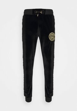 Glorious Gangsta - MATEO ZIP JOGGERS - Jogginghose - jet black