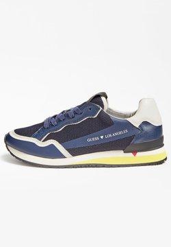 Guess - GENOVA - Sneaker low - bleu