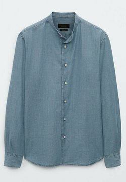 Massimo Dutti - MAOKRAGEN - Koszula - blue