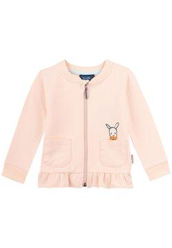 Sanetta Kidswear - Hoodie met rits - rosa
