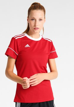 adidas Performance - CLIMALITE PRIMEGREEN JERSEY SHORT SLEEVE - Printtipaita - power red/white