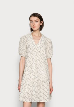 Love Copenhagen - FLOREL DRESS - Abito a camicia - eggnog