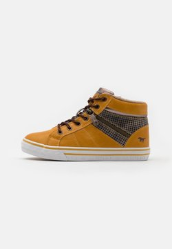 Mustang - Sneaker high - gelb/beige