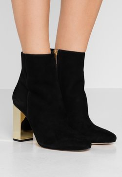 MICHAEL Michael Kors - PETRA - High heeled ankle boots - black