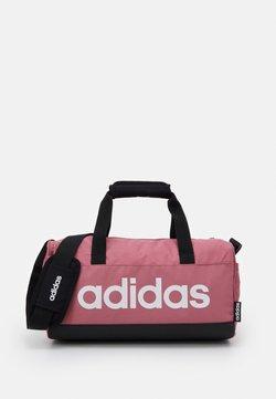 adidas Performance - LIN DUFFLE XS UNISEX - Sporttasche - tramar/black/white