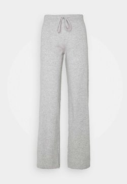 CHINTI & PARKER - ESSENTIALS WIDE LEG PANT - Broek - silver