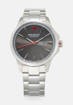 Swiss Military Hanowa - DAY DATE CLASSIC - Rannekello - silver-coloured/grey