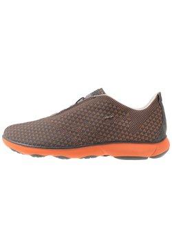 Geox - Sneaker low - anthracite/orange