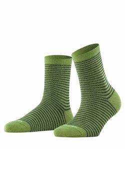 Burlington - LADYWELL  RINGLET - Socken - olive