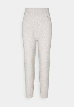 Fashion Union Petite - RULER TROUSERS - Trainingsbroek - grey