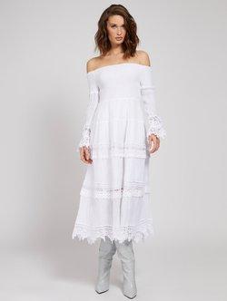 Guess - Cocktailkleid/festliches Kleid - weiß