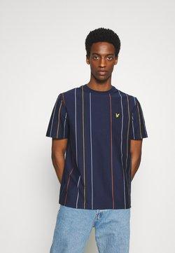 Lyle & Scott - VERTICAL STRIPE - T-Shirt print - navy