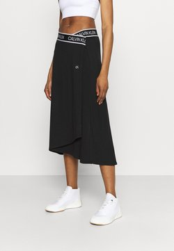Calvin Klein Performance - SKIRT - Falda de deporte - black