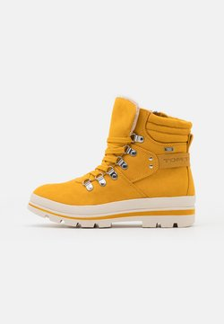 TOM TAILOR - Veterboots - yellow