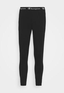 Champion - SLIM PANTS - Pantaloni sportivi - black