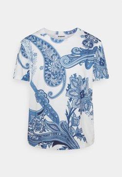 Desigual - POPASLEY - T-Shirt print - blue