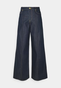 Victoria Victoria Beckham - EXAGERATED WIDE LEG - Jeans a zampa - blue denim