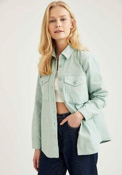DeFacto - Camisa - turquoise