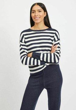 Vila - Strickpullover - navy blazer