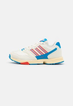 adidas Originals - ZX 1000 C UNISEX - Sneaker low - offwhite/active red/bright blue