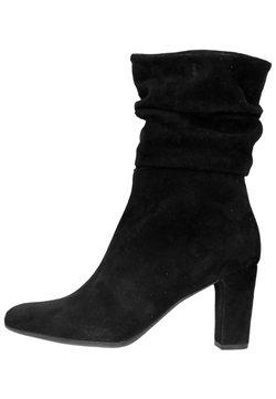 Manfield - High Heel Stiefelette - black