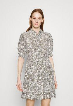 Vero Moda - VMLISSY SHORT DRESS - Shirt dress - kalamata/snow white