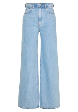 Weekday - ACE - Flared jeans - summer blue