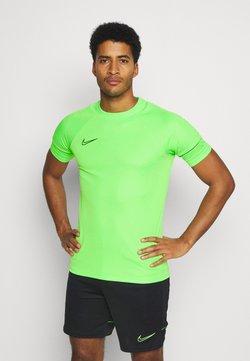 Nike Performance - ACADEMY 21 - Printtipaita - green strike/black
