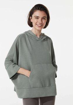 OYSHO - Kapuzenpullover - khaki