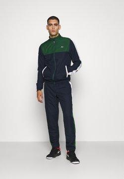 Lacoste Sport - TENNIS TRACKSUIT - Survêtement - green/navy blue/white