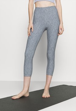 Cotton On Body - REVERSIBLE 7/8 - Tights - blue jay
