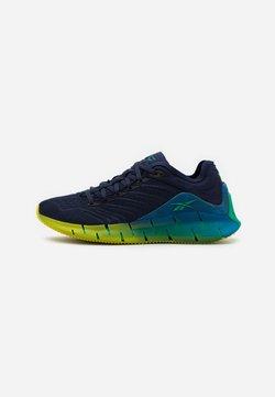 Reebok Classic - ZIG KINETICA  - Sneaker low - vector navy/horizon blue/chartreuse