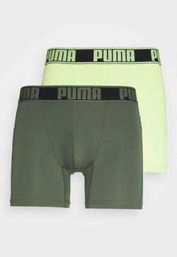 Puma - ACITVE BOXER 2 PACK - Underkläder - army green