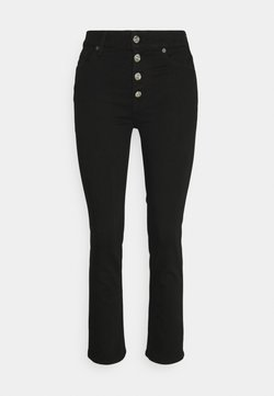 7 for all mankind - THE STRAIGHT CROP - Jeansy Straight Leg - black