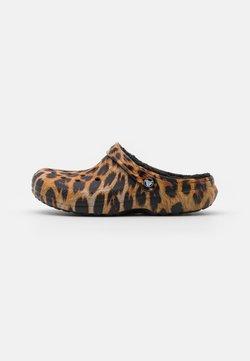 Crocs - CLASSIC LINED  - Hausschuh - black
