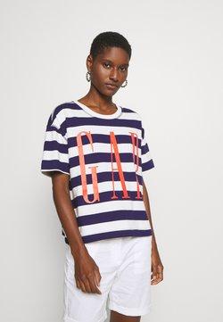 GAP - BOXY TEE - T-Shirt print - navy