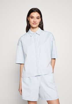 DRYKORN - THERRY - Button-down blouse - blau